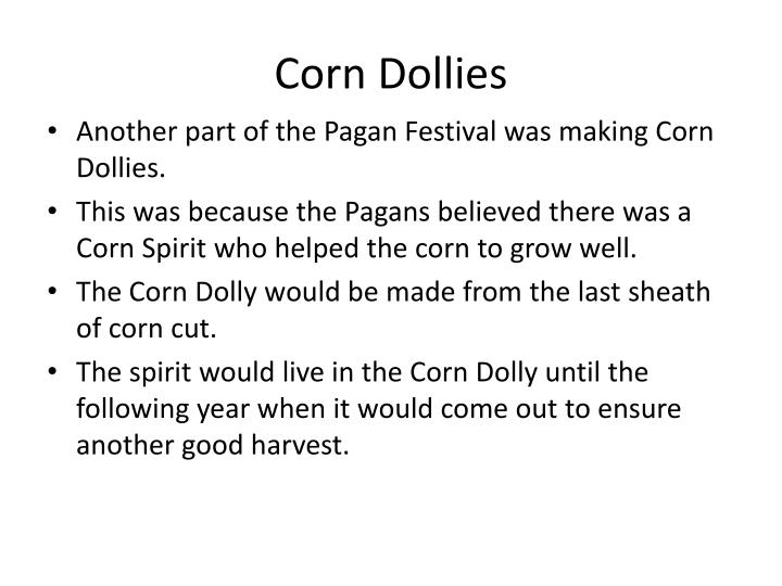 Corn Dollies