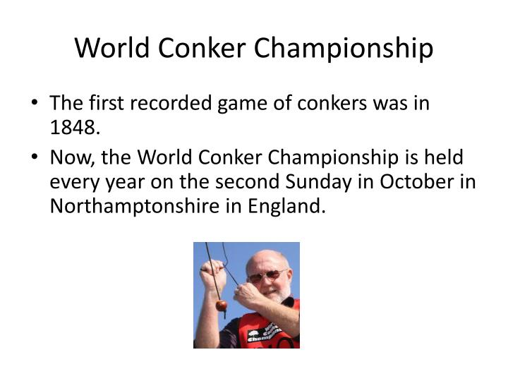 World Conker Championship