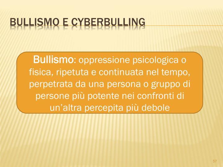 Bullismo e