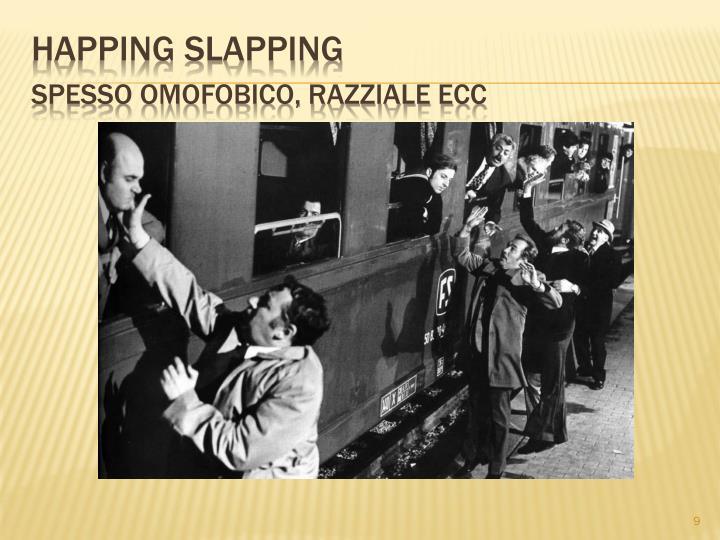 Happing slapping