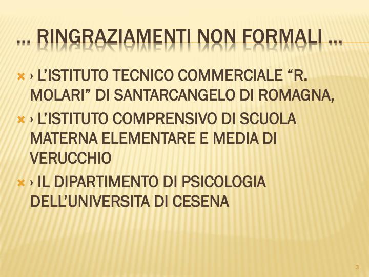 LISTITUTO TECNICO COMMERCIALE R. MOLARI