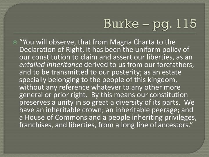 Burke – pg. 115