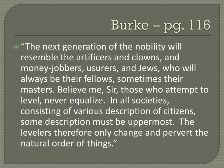 Burke – pg. 116