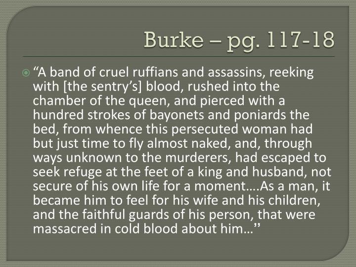 Burke – pg. 117-18