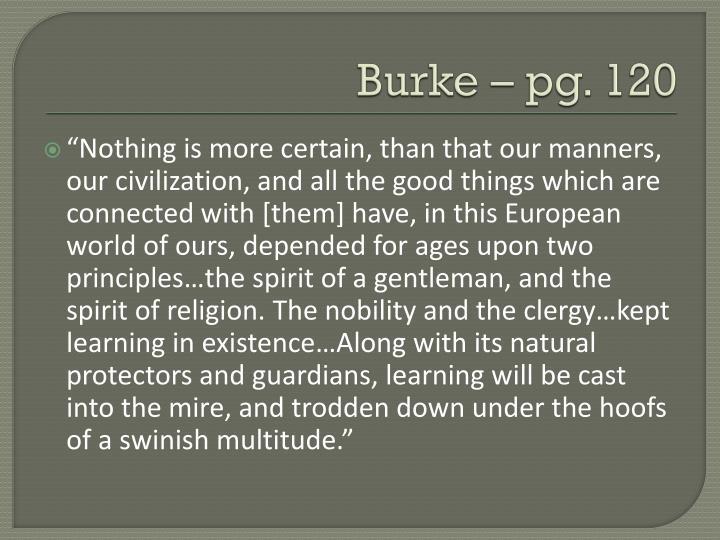 Burke – pg. 120