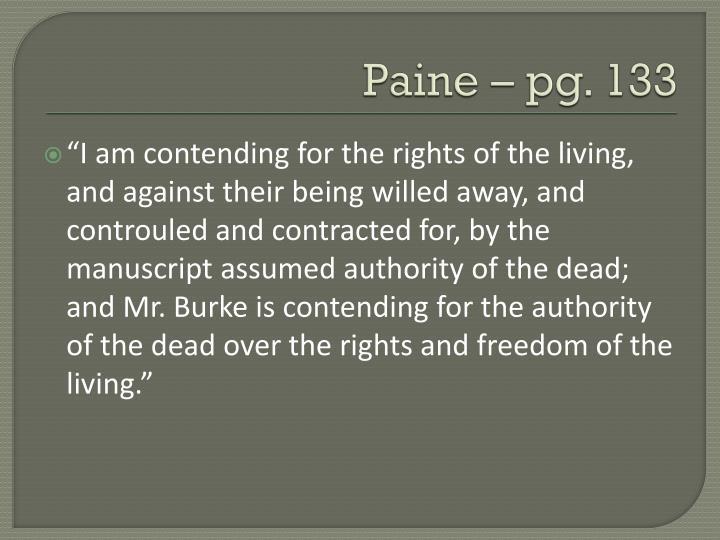 Paine – pg. 133
