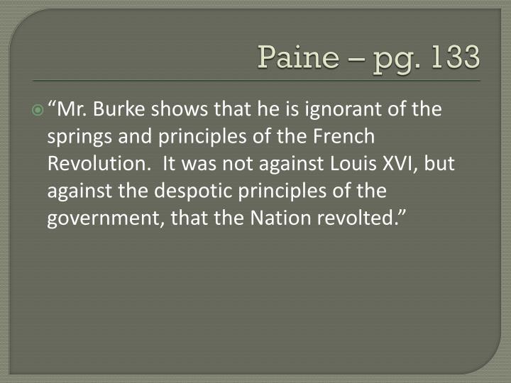 Paine – pg.