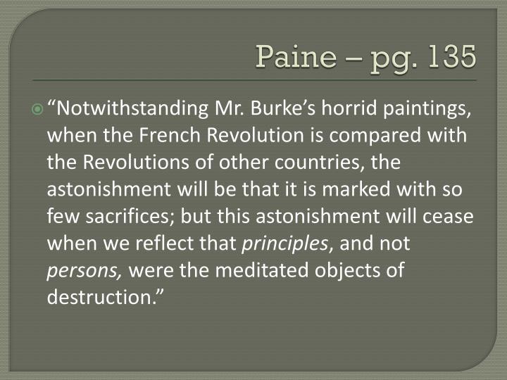 Paine – pg. 135
