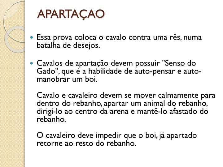 APARTAÇAO