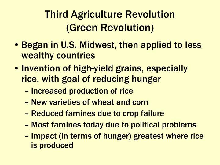 Third Agriculture Revolution