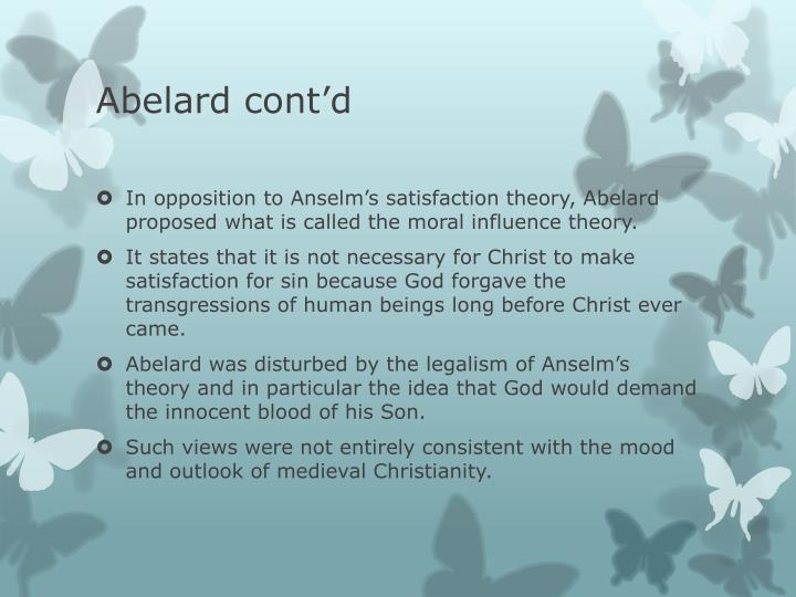 Abelard cont'd