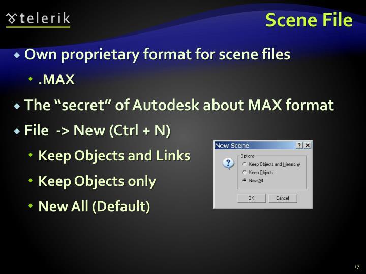 Scene File