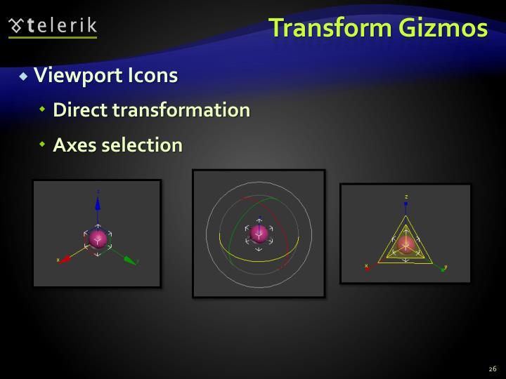 Transform Gizmos