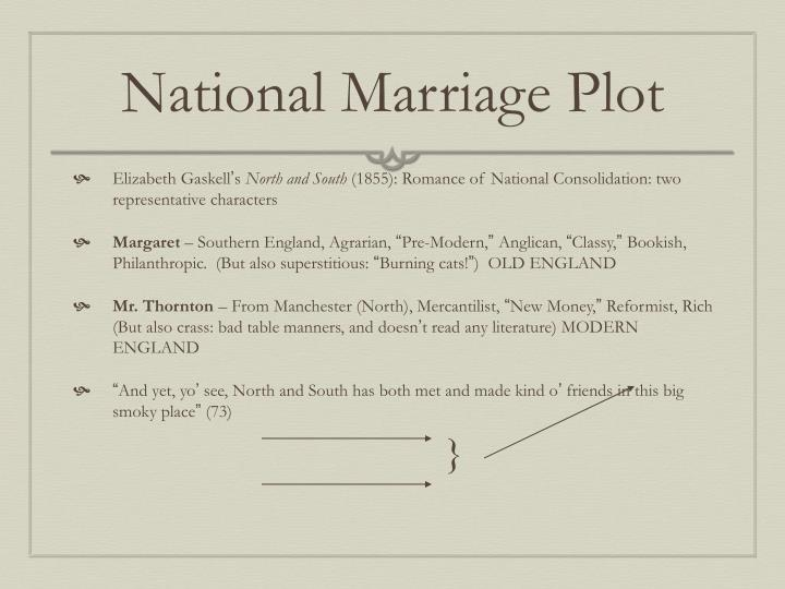 National Marriage Plot