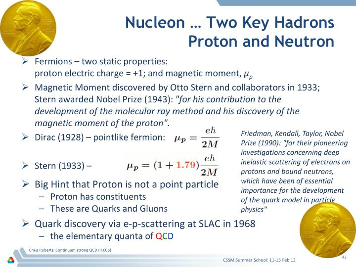 Nucleon … Two Key Hadrons
