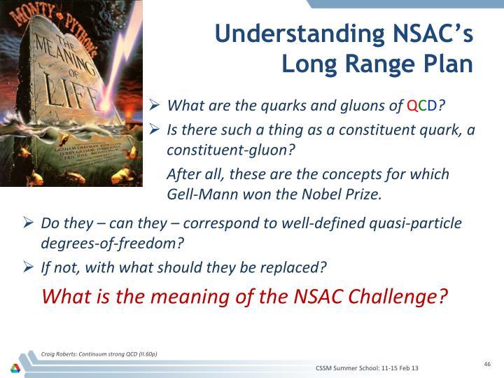 Understanding NSAC's