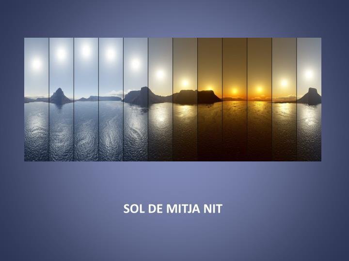 SOL DE MITJA NIT