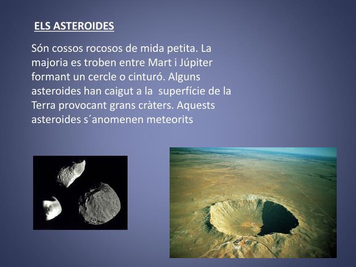 ELS ASTEROIDES