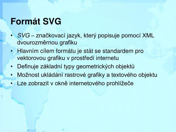 Formát SVG