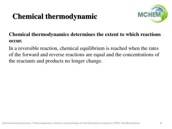 Chemical thermodynamic