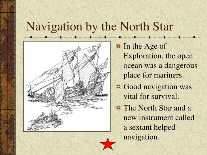 Navigation by the north star