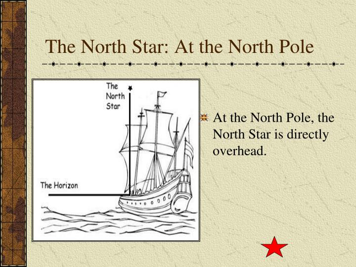 The North Star: At the North Pole