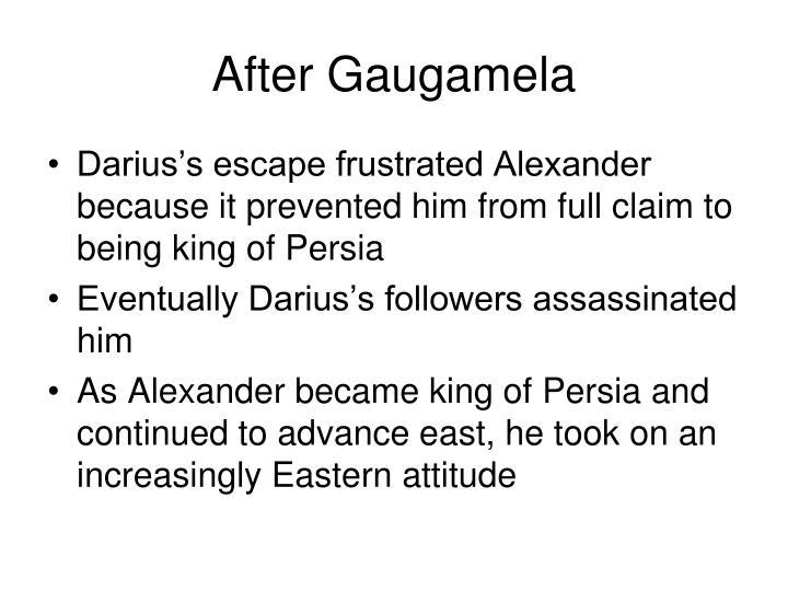 After Gaugamela