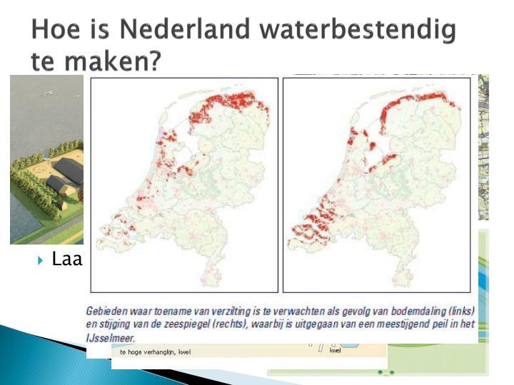 Hoe is Nederland waterbestendig te maken?