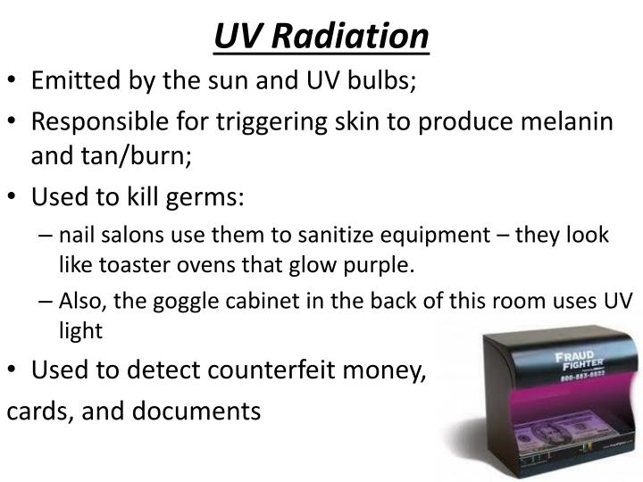 UV Radiation