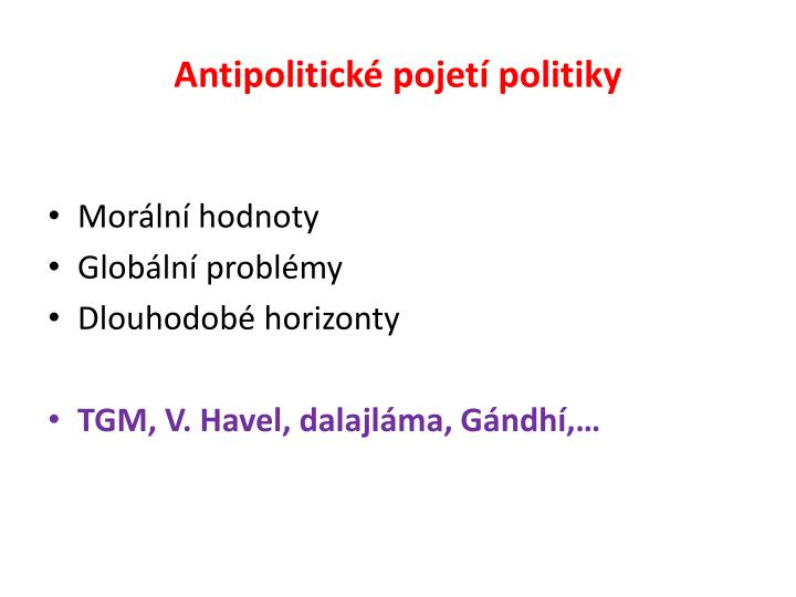 Antipolitické