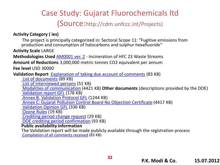 Case Study: Gujarat