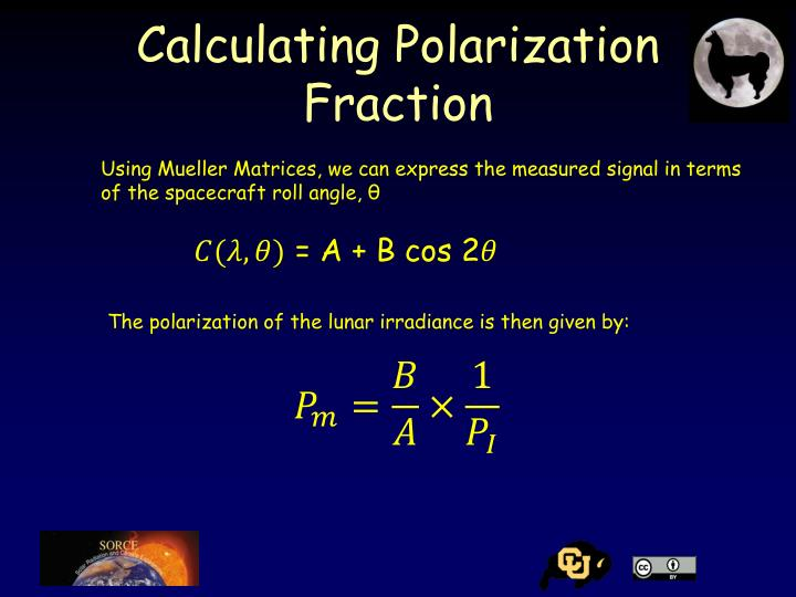 Calculating Polarization Fraction