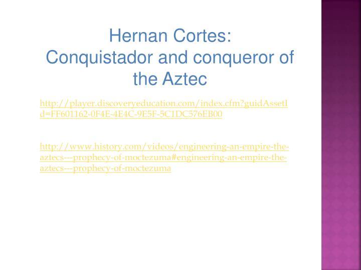 Hernan Cortes: