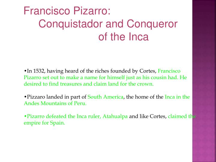 Francisco Pizarro: