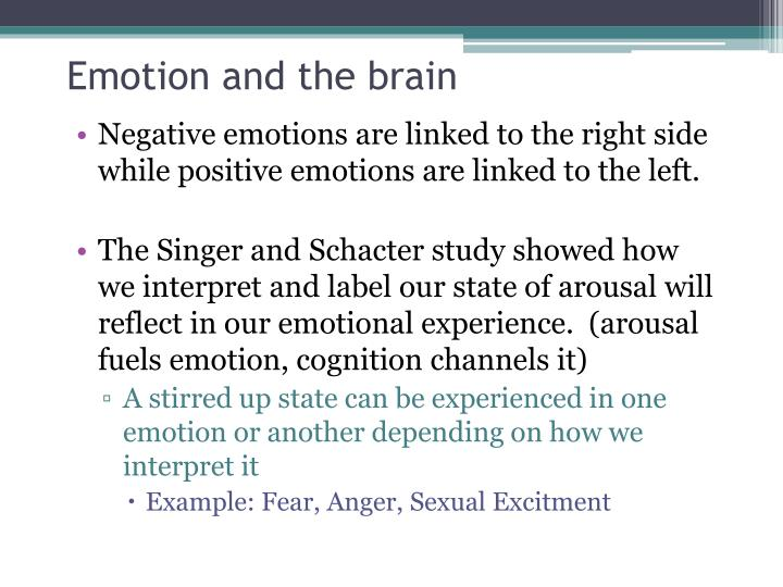 Emotion and the brain