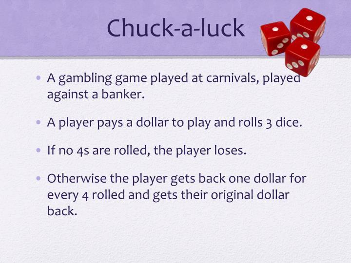 Chuck-a-luck