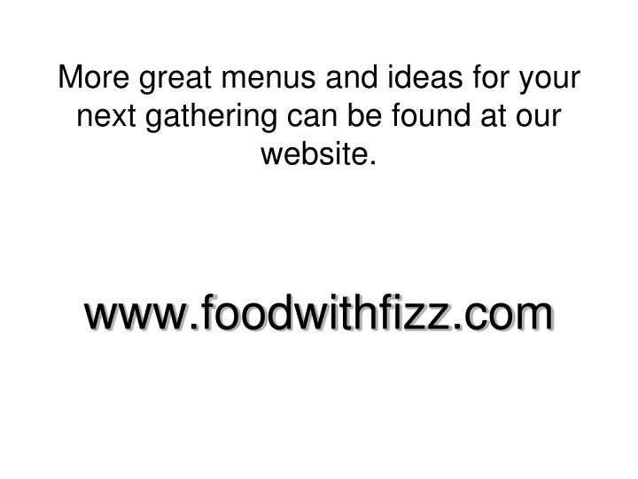 www.foodwithfizz.com