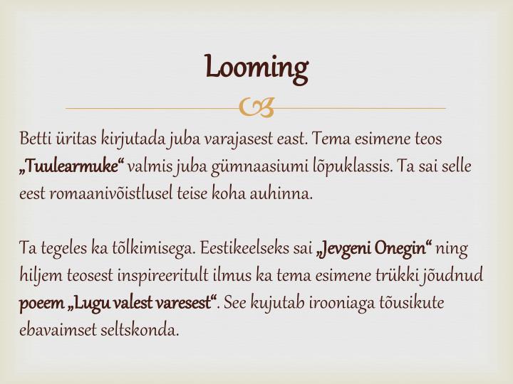 Looming