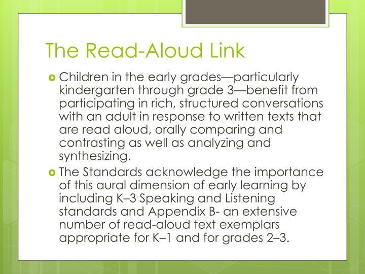 The Read-Aloud Link