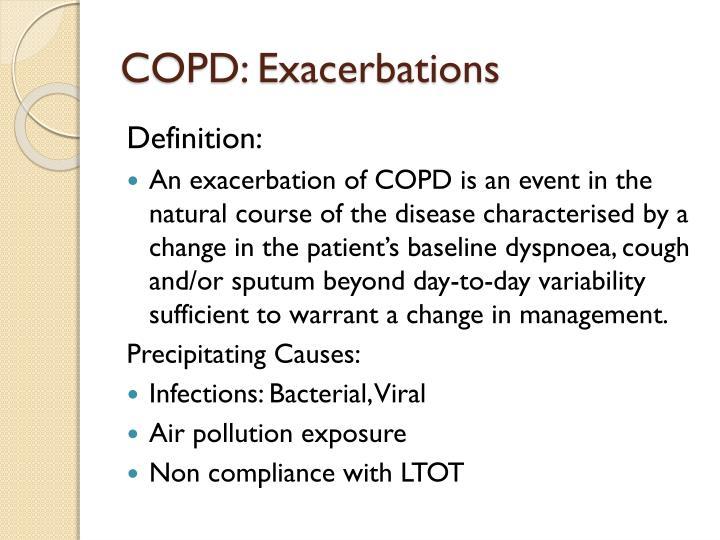 COPD: Exacerbations