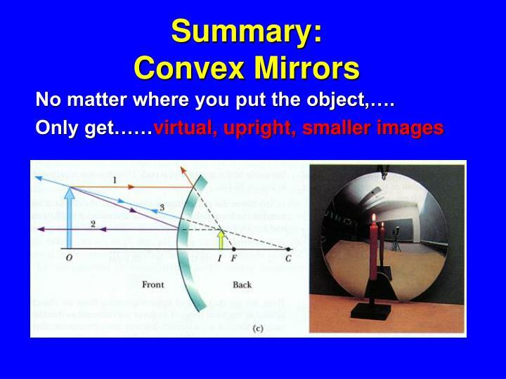 Summary: Convex