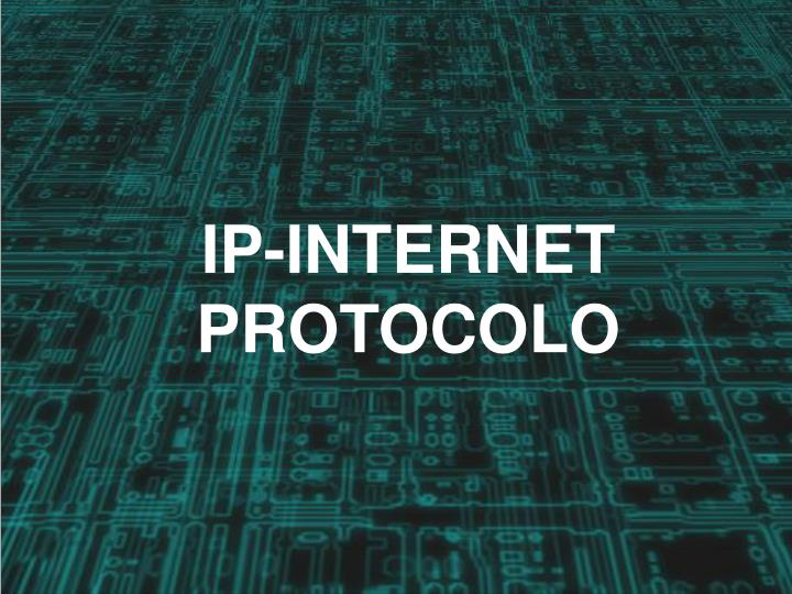 ip internet protocolo