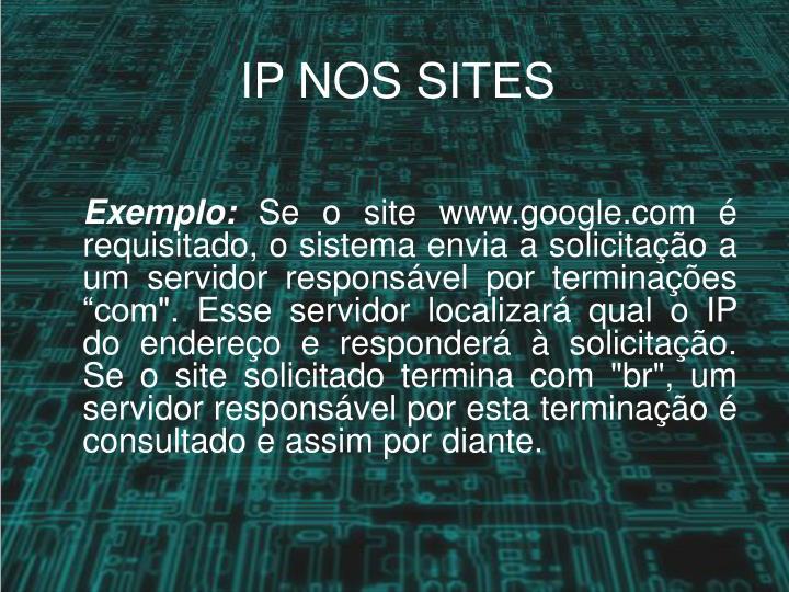IP NOS SITES