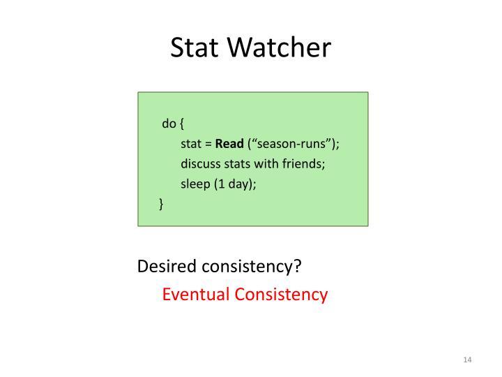 Stat Watcher
