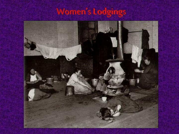 Women's Lodgings