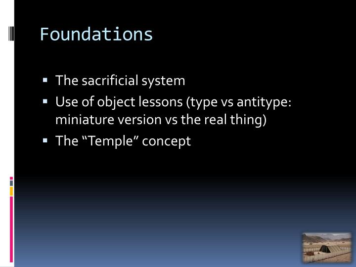 Ppt the sanctuary an overview part 1 powerpoint presentation id 1919496 - Type of foundation concept ...