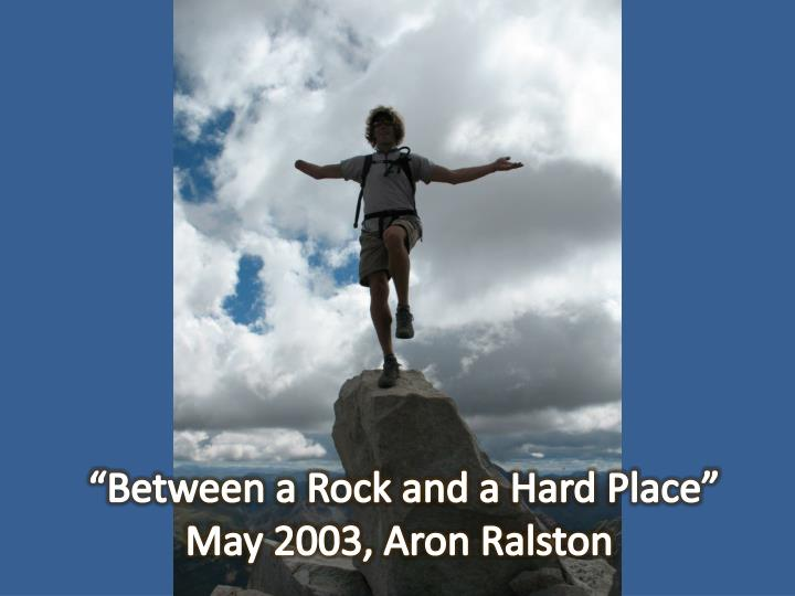 """Between a Rock and a Hard Place"""
