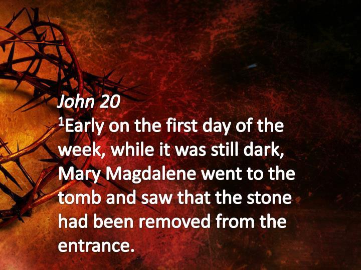 John 20