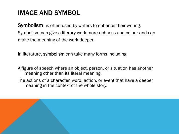 Image and Symbol