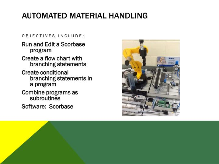 Automated Material